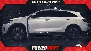 Kia Sorento @ Auto Expo 2018: Fortuner, Endeavour rival :  PowerDrift
