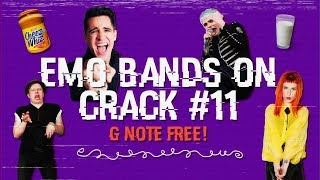 emo bands on F-F-F-FRESH cRaCk #11 (for CRANKTHATFRANK)