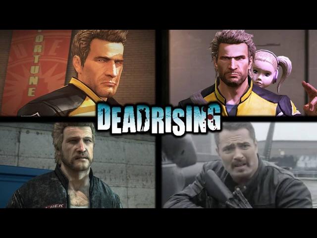 Dead Rising All Chuck Greene Voices Comparison Youtube