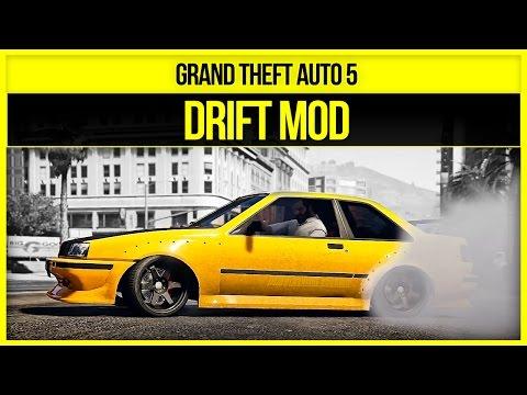 GTA 5 - DRIFT MOD - GTA V Mod Showcase