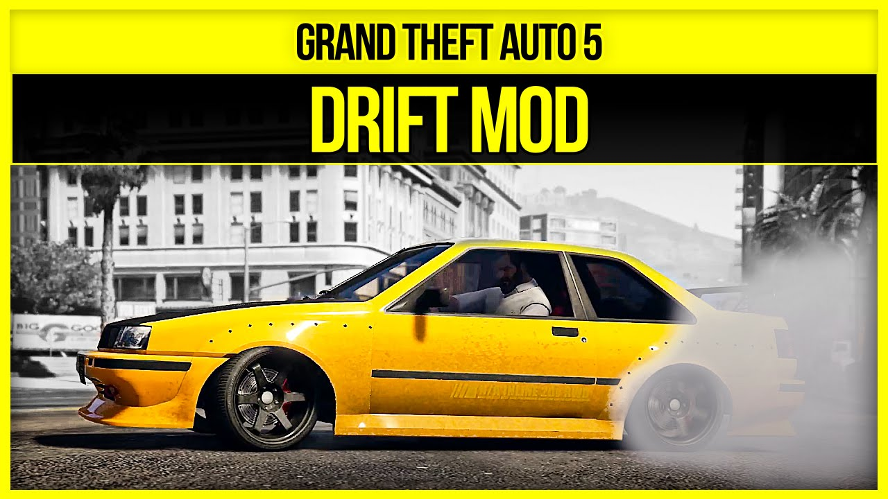 Дрифт мод для GTA 5