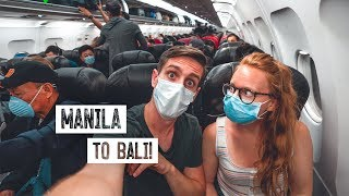 Flying From MANILA to BALI! (Philippines ✈️ Indonesia)
