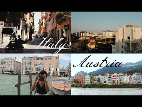 italy, austria - travel diary