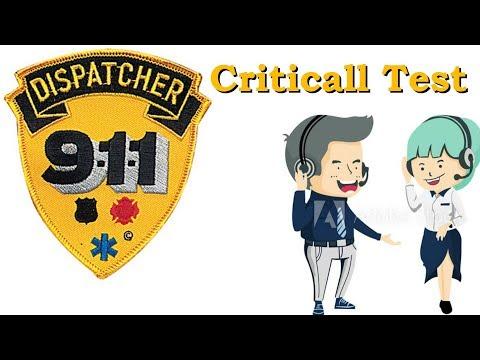 911 Dispatcher Criticall Test