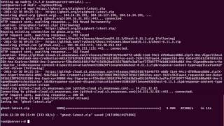 Install Ghost Blog On Ubuntu 16.04 Linux