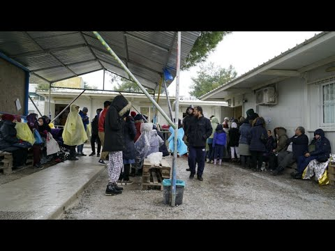 Lesbos: Migrants in limbo