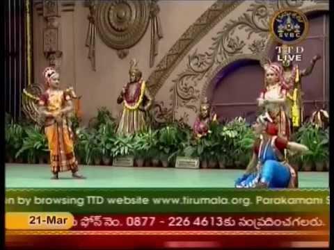 Kuchipudi Dr Shobha Naidu Troup 01 Deva Devam Hindolam Annamayya