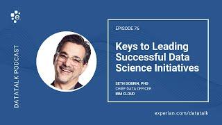 Keys to Leading Successful Data Science Initiatives w/ @SDobrin @IBMDataScience