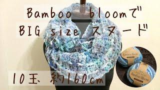 材料 Bamboo Bloom (FUJI) 10玉 かぎ針 10号 ハサミなど 約10玉で、160c...