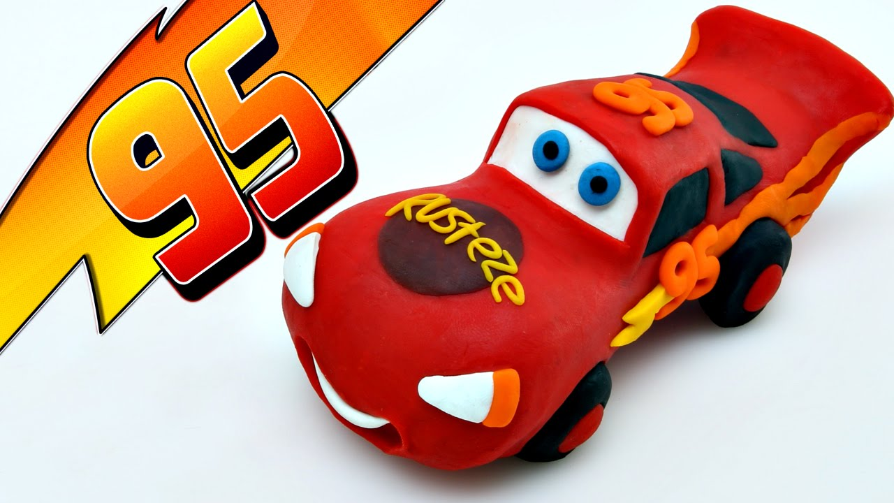 how to make toy car with clay