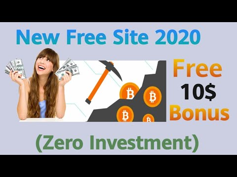 😱OMG ! New Free Bitcoin Mining Site 2020 | Earn Free Bitcoin 0.0011 Bonus Without Investment 2020