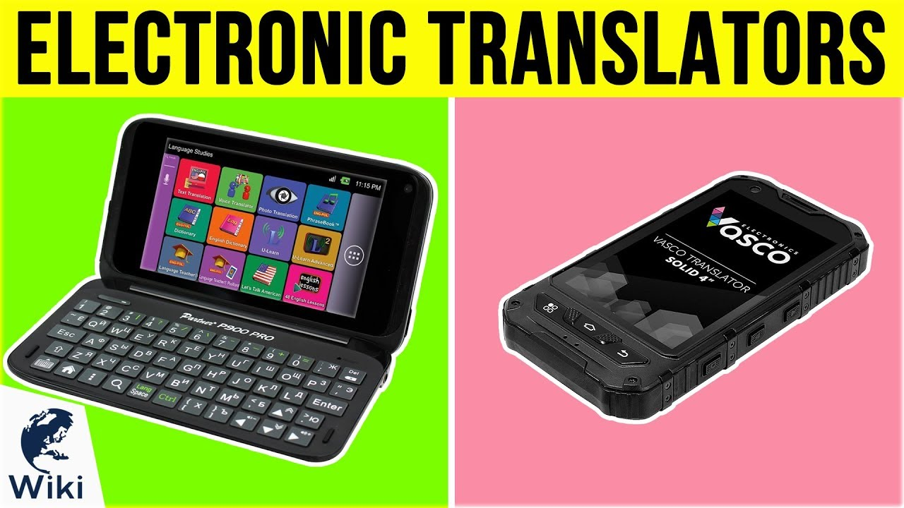 Top 10 Electronic Translators of 2019   Video Review