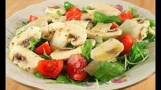 Салат со Свежими Грибами /Как Это Вкусно