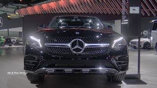 2018 Mercedes Benz GLC 300 Coupe - Exterior And Interior Walkaaround - LA Auto Show 2017
