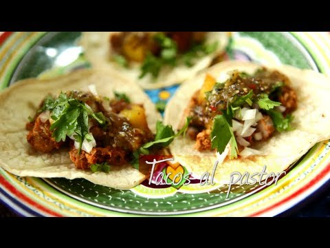 Tacos al pastor - Mexican recipe video