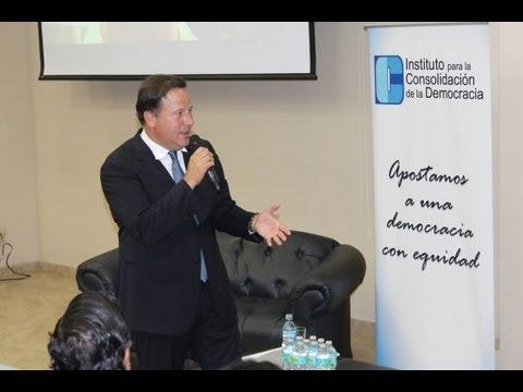 Conversatorio con Juan Carlos Varela