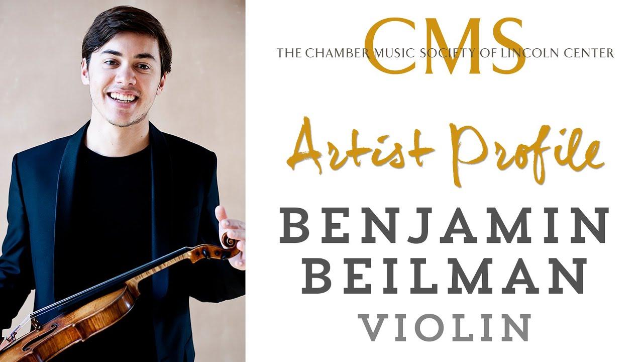 Benjamin Beilman  Artist Profile - September 2012