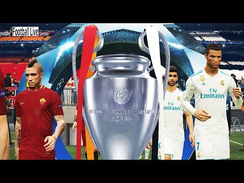 Pes 2018   real madrid vs as roma   final uefa champions league (ucl)   gameplay pc