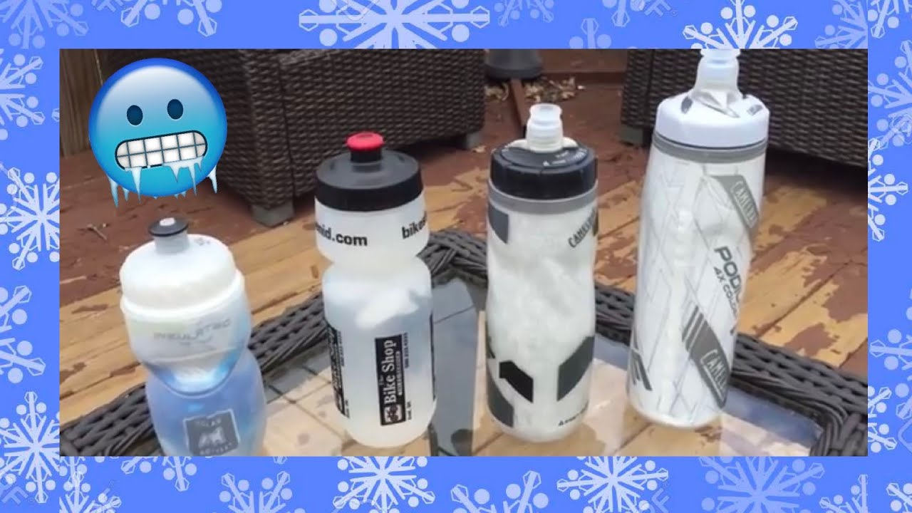 21a3eac059 NEW Camelbak Podium Chill Ice Review - YouTube