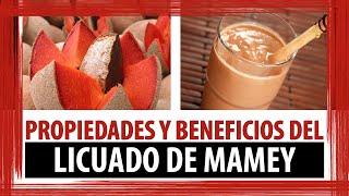 PROPIEDADES Y BENEFICIOS DEL LICUADO DE MAMEY