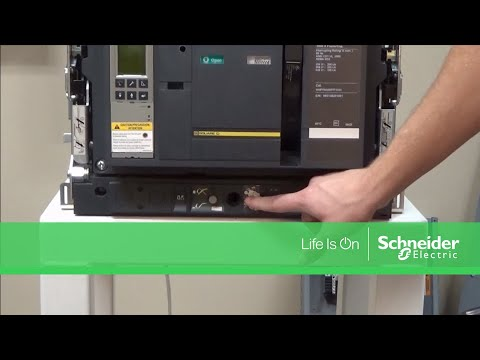Racking In Masterpact® NT & NW Circuit Breakers   Schneider Electric on