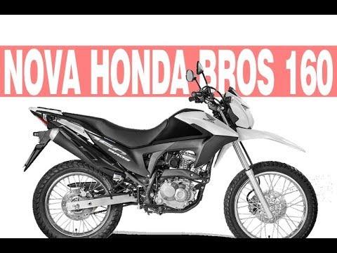 Nova Honda Bros 160 2018 2019 Ficha Técnica Preço Consumo Youtube