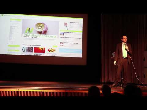 How not to die -  Dr. Michael Greger in Stockholm 2017