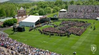 Lehigh University 2016 Commencement Ceremony Timelapse