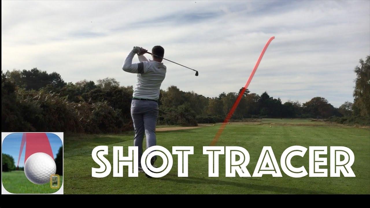golf shot protracer compilation shot tracer app youtube