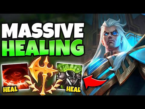 WTF?! SUPER HEALING SWAIN TOP CAN TANK ENDLESSLY! (INFINITE SUSTAIN) - League of Legends