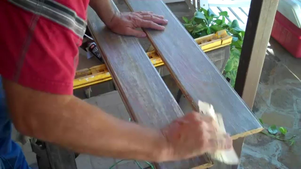 Rustic Furniture Stain How To Make Rustic Wood Antiquing Through Staining Painting