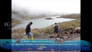 Medidas de parámetros Fisicoquímicos de las Fuentes Termales (Volcanes Chiles y Cerro Negro)
