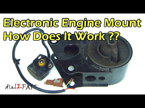 Nissan Electronic Engine Mount - How It Works
