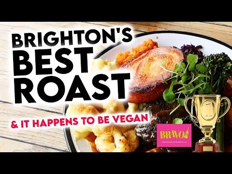UK Vegan Restaurant Wins 'Best Sunday Roast' / Brighton UK