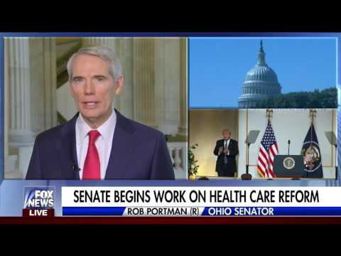 Portman Discusses Health Care on Fox News