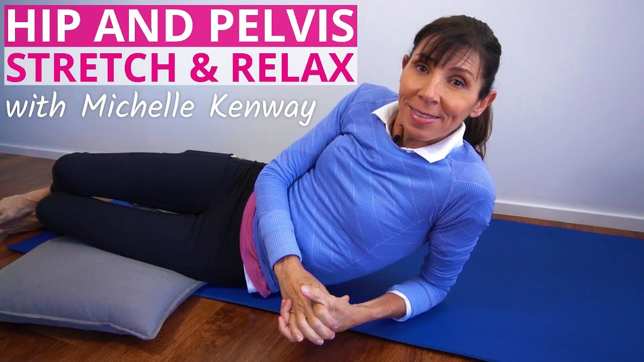 Pelvic Floor Relaxation Stretches and