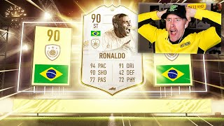 I PACKED ICON R9 RONALDO!! (FIFA 21)