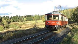 Oberweißbacher Bergbahn; Flachstrecke (Cursdorf-Lichtenhain)