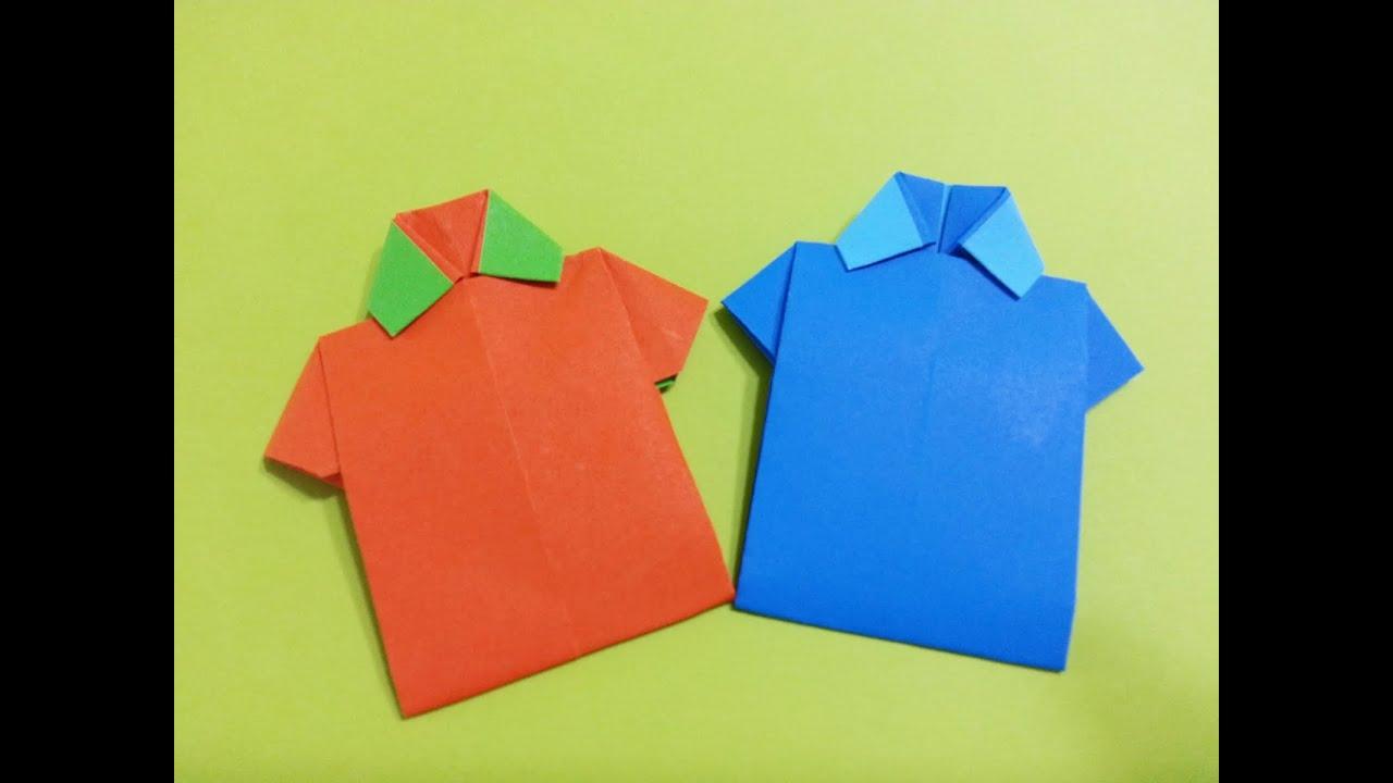 ����������� origami tshirt youtube