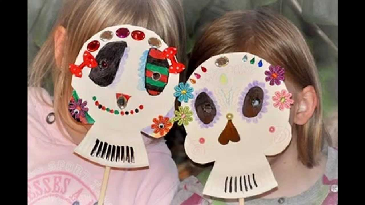 great paper plate halloween crafts youtube - Youtube Halloween Crafts