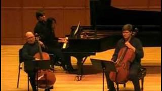 Handel Sonata For Two Cellos And Piano Movement 1