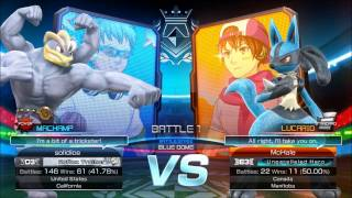 friendlies: solid ice (machamp/mewtwo) vs  McHale (lucario/garchomp)