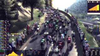 Pro Cycling Manager 2015 - Mountain Gameplay [HD]
