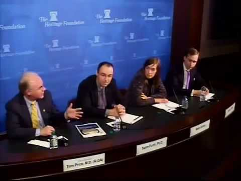 Congressman Tom Price, M.D. Speaks at the Heritage Foundation on Austerity