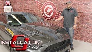 2015-2017 Mustang V6/EcoBoost/GT Trufiber Hood A49-3 Carbon Fiber Installation