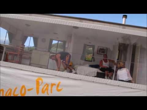 DECOR MOBIL-HOME PENCHE - CAMPING MONACO PARC ****