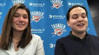 OKC Thunder - Heat holds off Thunder (Game 42 of 82)