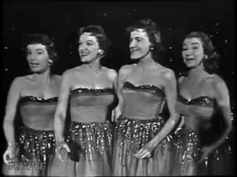 "The Chordettes ""Lollipop"" & ""Mr. Sandman"""