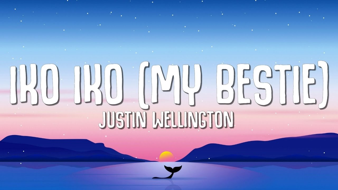 """Download Justin Wellington - Iko Iko (Lyrics) """"My besty and your besty sit down by the fire"""""""