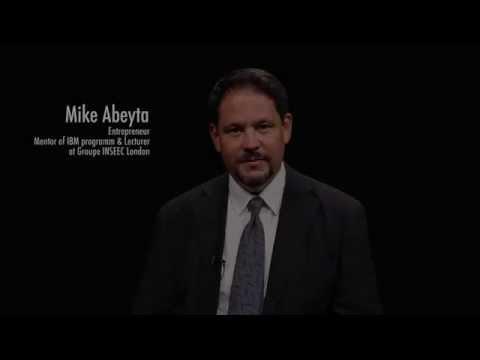 MIKE ABEYTA Entrepreneur & Mentor of IBM programme INSEEC London